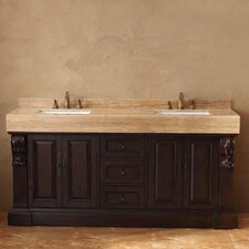 "Toscano 72"" Double Bathroom Vanity Set"