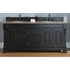 "Brookfield 72"" Double Bathroom Vanity Base"