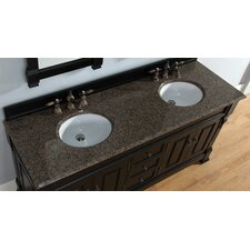 "Brookfield 72"" Double Stone Vanity Top"
