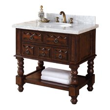 Castilian Single Bathroom Vanity Base