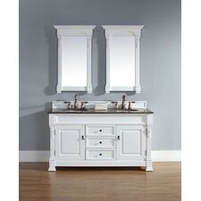 Brookfield Double Vanity Base in Cottage
