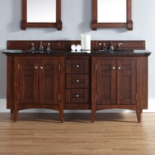 "North Hampton 72"" Double Vanity Set"