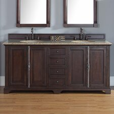 "Providence 72"" Double Bathroom Vanity Set"