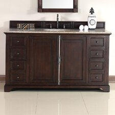 "Providence 60"" Single Bathroom Vanity Set"