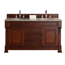 "Brookfield 60"" Double Bathroom Vanity Set"