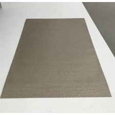 Woven Vinyl All Weather Sterling Gray Indoor/Outdoor Area Rug