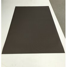 Woven Vinyl All Weather Dark Bronze Indoor/Outdoor Area Rug