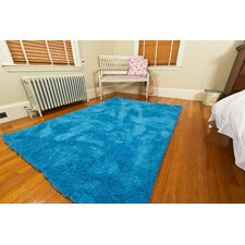 Super Soft Micro Fiber Blue Area Rug