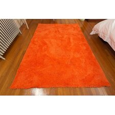 Super Soft Micro Fiber Orange Area Rug