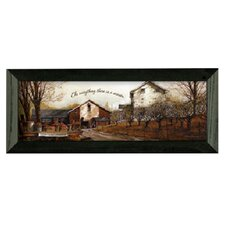 To EverythIng by John Rossini Framed Painting Print
