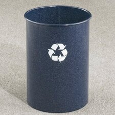 RecyclePro 5-Gal Single Stream Open Top Recycling Waste Basket