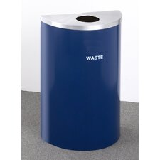 RecyclePro Value Series 16-Gal Single Stream Industrial Recycling Bin