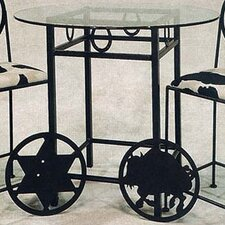 Horseshoe Counter Height Pub Table