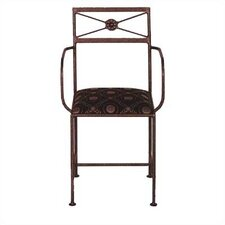 Neoclassic Dining Arm Chair with Cushion