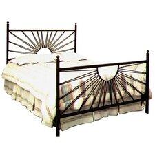 El Sol Wrought Iron Panel Bed
