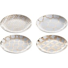 "Luxe Moderne 7.25"" Appetizer Plate"