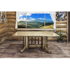 Glacier Country Double Pedestal Dining Table