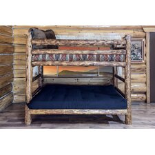 Glacier Country Twin Over Full Bunk Bed