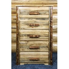 Glacier Country 5 Drawer Chest
