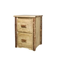 Glacier Country 2-Drawer File Cabinet