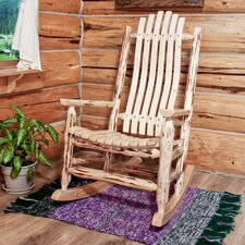 Log Rocking Chair