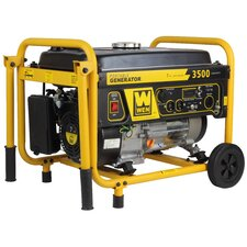 3500 Watt Gas Generator w/ Wheel Kit
