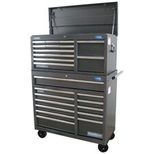 "41""  Wide 24 Drawer Tool Chest and Cabinet Combo"