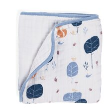 Organic Into The Woods Dream Cotton Blanket