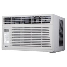 6000 BTU Window-Mounted Air Conditioner with Remote