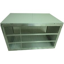 "26"" Wall Sleeve and Stamped Aluminum Rear Grille for Through-the-Wall Air Conditioner"