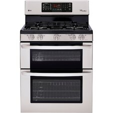 6.1 Cu. Ft. Gas Convection Range in Stainless Steel