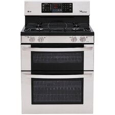 6.1 Cu. Ft. Gas Range in Stainless Steel