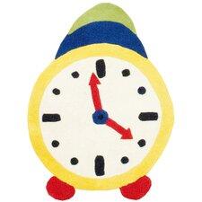 Ivory Clock Area Rug