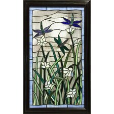 Milana Rectangular Stained Glass Panel