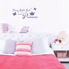 Every Little Girl Wall Decal
