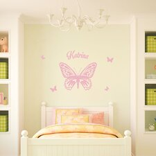 Butterfly Queen Wall Decal