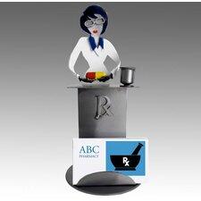 Pharmacist Female Business Card Holder