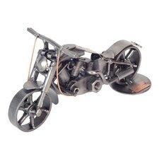 Motorcycle Fat Boy Sculpture