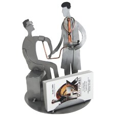 Doctor Sculpture Business Card Holder