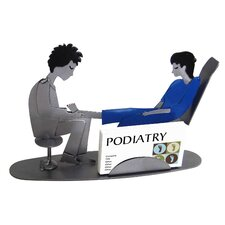 Doctor Podiatrist Female Business Card Holder