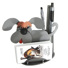 Dog Business Card Holder