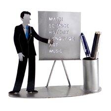 Male Teacher Pen Holder