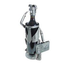 Male Esquire 1 Bottle Tabletop Wine Rack