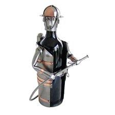 Fireman 1 Bottle Tabletop Wine Rack