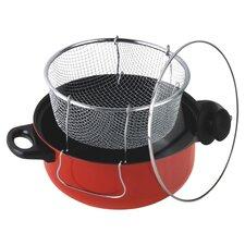 4.3 Liter Nonstick Deep Fryer & Frying Basket