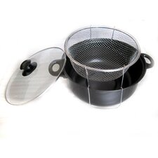 Non Stick Deep Fryer with Lid