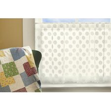 Polka Dot Tier Curtain
