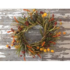 Grass and Flower Wreath