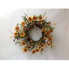 Sunflower Buttercup Wreath