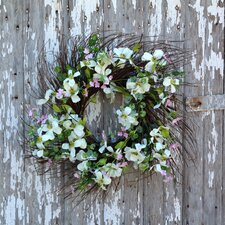 Dogwood Sunburst Wreath